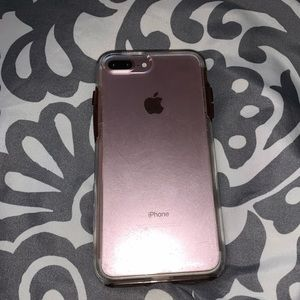 clear otterbox iphone 7/8 plus case